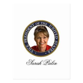 Vice President Sarah Palin Post Cards