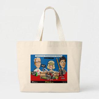 Vice Presidential Debate Canvas Bag