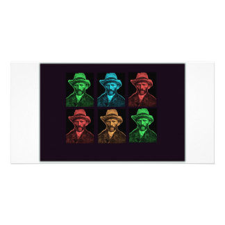 Vicent Van Gogh Collage Photo Cards