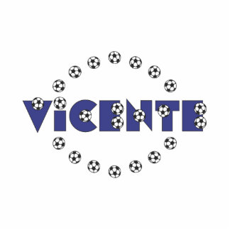 Vicente in Soccer Blue Photo Cut Out
