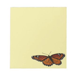 Viceroy Butterfly Beautiful Nature Photography Notepad