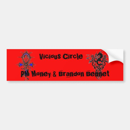 Vicious Circle Bumper Sticker
