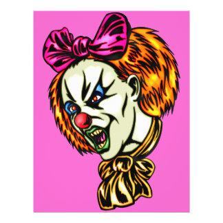 Vicious Female Clown 21.5 Cm X 28 Cm Flyer