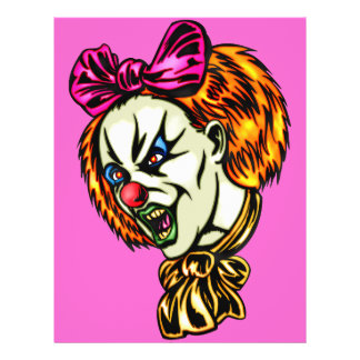Vicious Female Clown Flyers