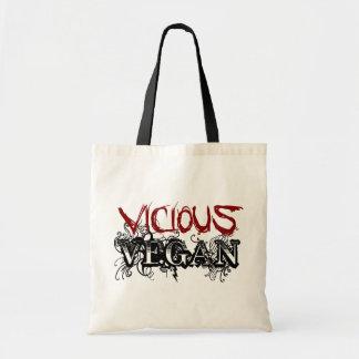 Vicious Vegan Budget Tote Bag