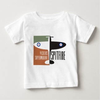 vickers supermarine spitfire baby T-Shirt