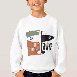vickers supermarine spitfire sweatshirt