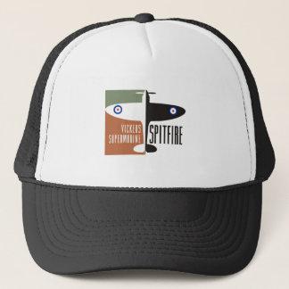 vickers supermarine spitfire trucker hat