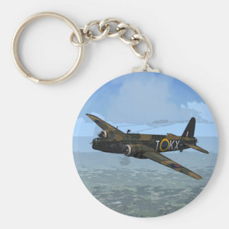 Vickers Wellington Keychain/Keyring Key Ring