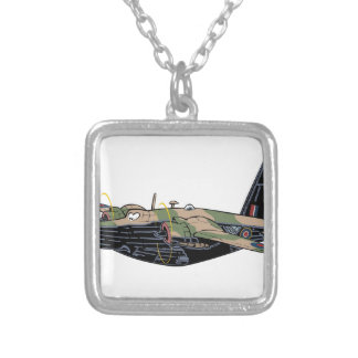 Vickers Wellington Silver Plated Necklace