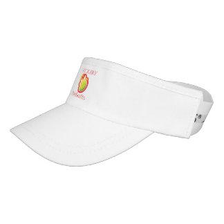 Vickery Fireballs white visor