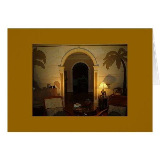 Vicki's Living room, 2 Greeting Card