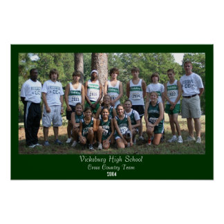 Vicksburg High School Poster