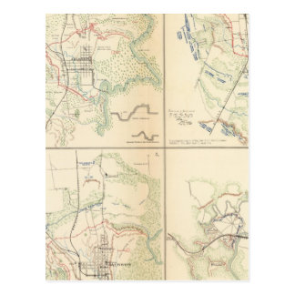 Vicksburg, Jackson, Big Black River bridge Postcard