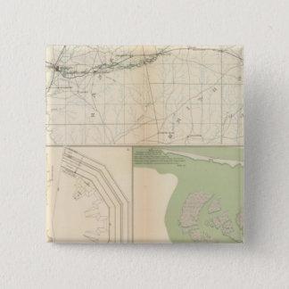 Vicksburg Meridian, Miss 15 Cm Square Badge