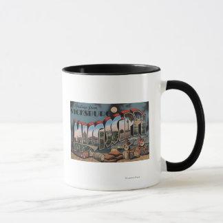 Vicksburg, Mississippi - Large Letter Scenes Mug
