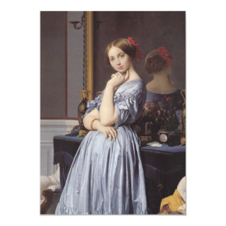 Vicomtess othenin Dhaussonville fine art portrait Custom Invite