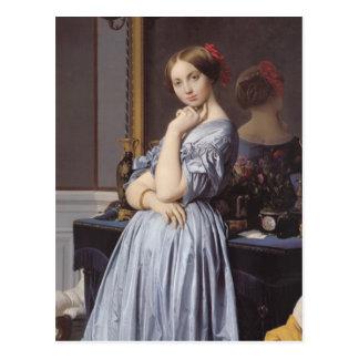 Vicomtess othenin Dhaussonville fine art portrait Postcard