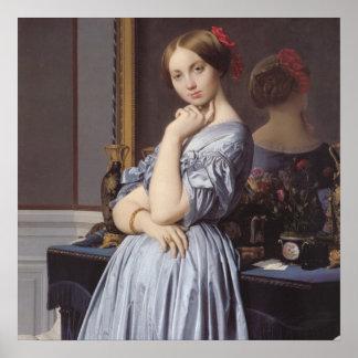 Vicomtess othenin Dhaussonville fine art portrait Print