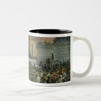 Victims of the March Revolution Two-Tone Coffee Mug