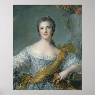 Victoire de France  at Fontevrault, 1748 Poster