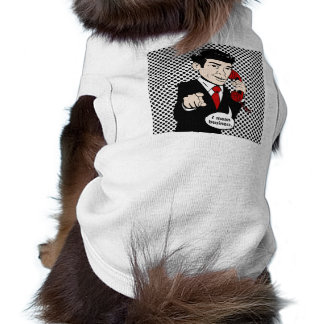 Victor Crushmore Means Business Pet Tee