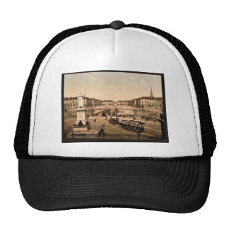Victor Emmanuel Place, Turin, Italy classic Photoc Mesh Hat