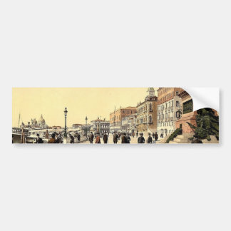Victor Emmanuel's Monument, Venice, Italy classic Bumper Stickers