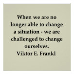 victor frankl quote print