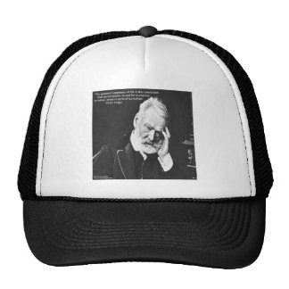 Victor Hugo & Happiness Quote Gifts Tees Etc Cap