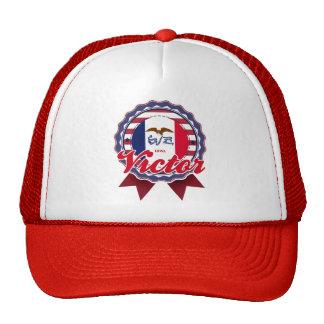 Victor, IA Trucker Hat