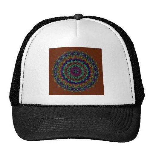 Victor Mandala Mosaic Trucker Hats