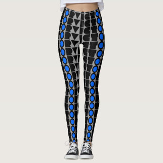 Victor Print Leggings