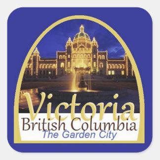 VICTORIA Canada Square Sticker
