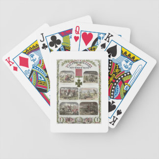 Victoria Cross, the New Order of Valour for the Ar Bicycle Playing Cards