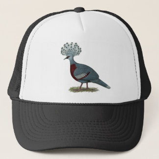 Victoria Crowned Pigeon Trucker Hat