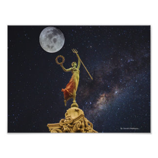 """Victoria Dances to Celestial Music"" Photo Print"