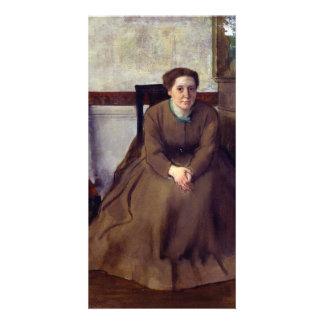 Victoria Dubourg by Edgar Degas Photo Card