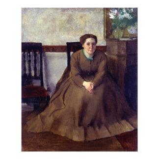 Victoria Dubourg by Edgar Degas Photographic Print
