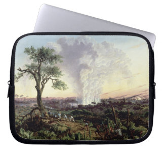 Victoria Falls at Sunrise, with 'The Smoke', or 'S Laptop Sleeve