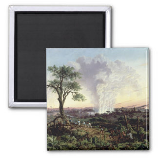 Victoria Falls at Sunrise, with 'The Smoke', or 'S Magnet