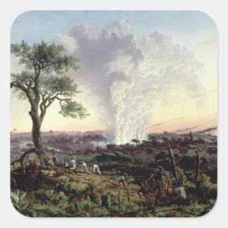 Victoria Falls at Sunrise, with 'The Smoke', or 'S Square Sticker