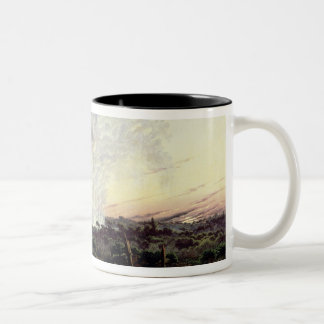 Victoria Falls at Sunrise, with 'The Smoke', or 'S Two-Tone Coffee Mug