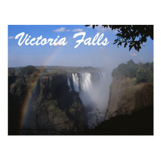 Victoria Falls Travel Postcad Postcards