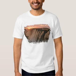 Victoria Falls with sun on horizon, Victoria Shirts