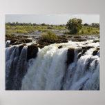Victoria Falls, Zambesi River, Zambia. 2 Poster