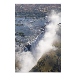 Victoria Falls, Zambesi River, Zambia - Art Photo