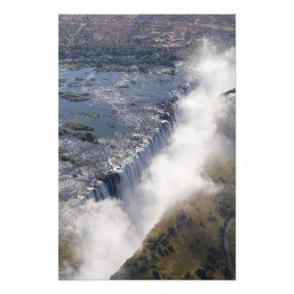 Victoria Falls, Zambesi River, Zambia - Art Photo