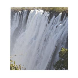 Victoria Falls, Zambesi River, Zambia. Notepad