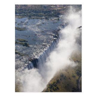 Victoria Falls, Zambesi River, Zambia - Postcard